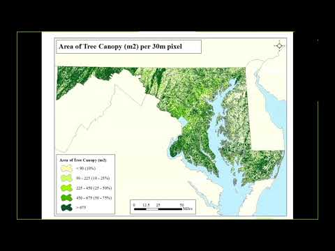 Mapping Ecosystem Services in Maryland to Inform Decision Making