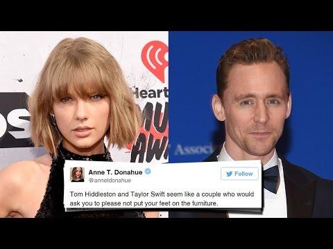 BEST Twitter Responses To Taylor Swift & Tom Hiddleston Dating