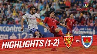 Resumen de Real Zaragoza vs CD Numancia (1-2)