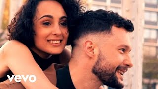 calum scott barbara pravi you are the reason french duet versionin studio