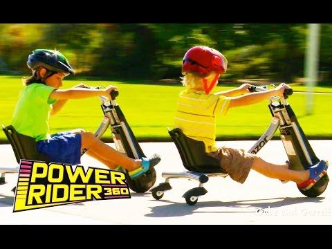 Razor Power Rider 360 - Unboxing, Assembly, and Riding!
