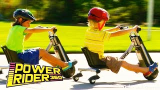 Razor Power Rider 360 - Unboxing, Assembly, and Riding!(Gabe and Garrett unbox, assemble, ride, spin, and drift with their new Power Rider 360 electric tricycles!, 2014-10-03T17:25:42.000Z)
