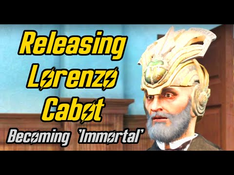 Fallout 4. Setting Lorenzo Cabot free and becoming