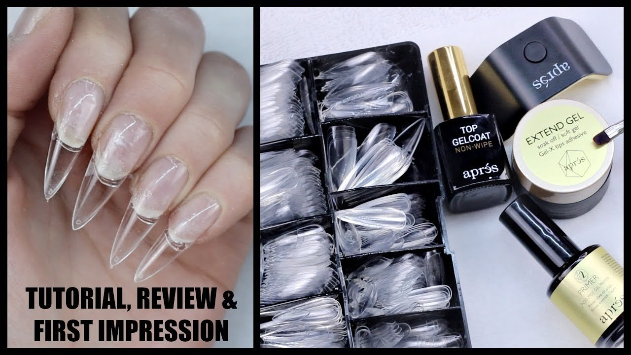 Apresgelx Nailproductreview Firstimpression