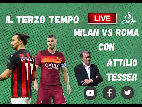 🔴Serie A, Milan-Roma: il Terzo Tempo di Calciomercato.it