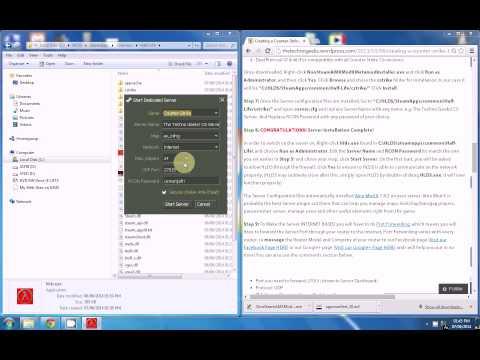 Creating a Counter-Strike 1 6 INTERNET-Based Server using