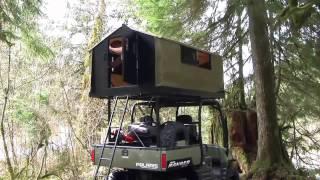 TentCommander - Versatile, Universal ATV Tent Solution