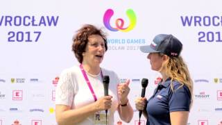 Interview with Irena Szewińska at The World Games 2017