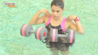 Aqua Aerobics Exercises to Get Washboard Abs