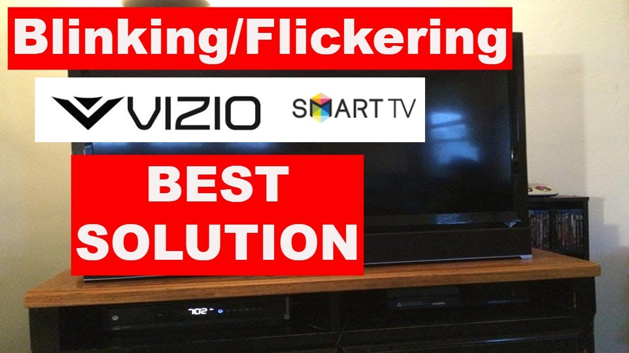 How To Fix Vizio Tv Screen Blinking Without Repair How To Fix Vizio Tv Screen Not Working Youtube