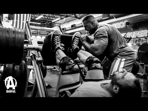 Training Legs with Vincenzo
