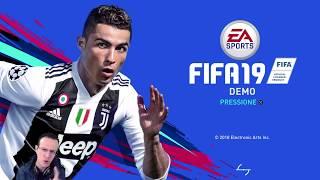 FIFA 19 DEMO LINK NA DESCRIÇÃO - CONFERINDO O GAME!