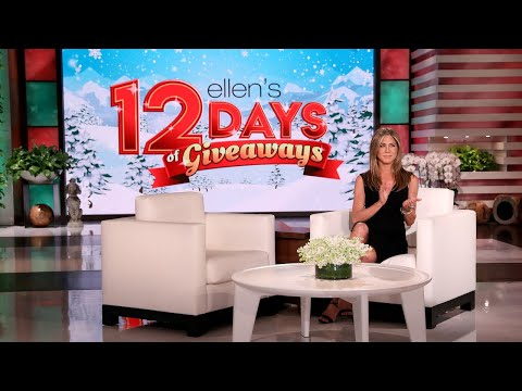 Jennifer Aniston's 12 Days Surprise for the Audience!