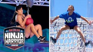 Inspiring Mom and Daughter Train for Ninja Together! | American Ninja Warrior Junior