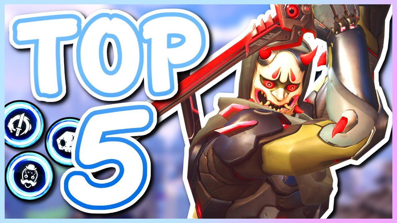 Overwatch - THE TOP 5 BEST ULTIMATES IN OVERWATCH thumbnail