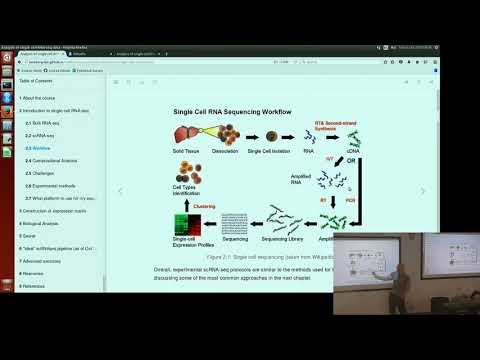 Analysis of single cell RNA-seq Nov2017 - Day1 Morning Session1