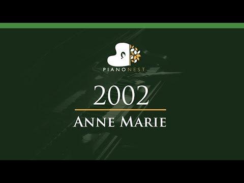Anne Marie - 2002 - LOWER Key (Piano Karaoke / Sing Along)