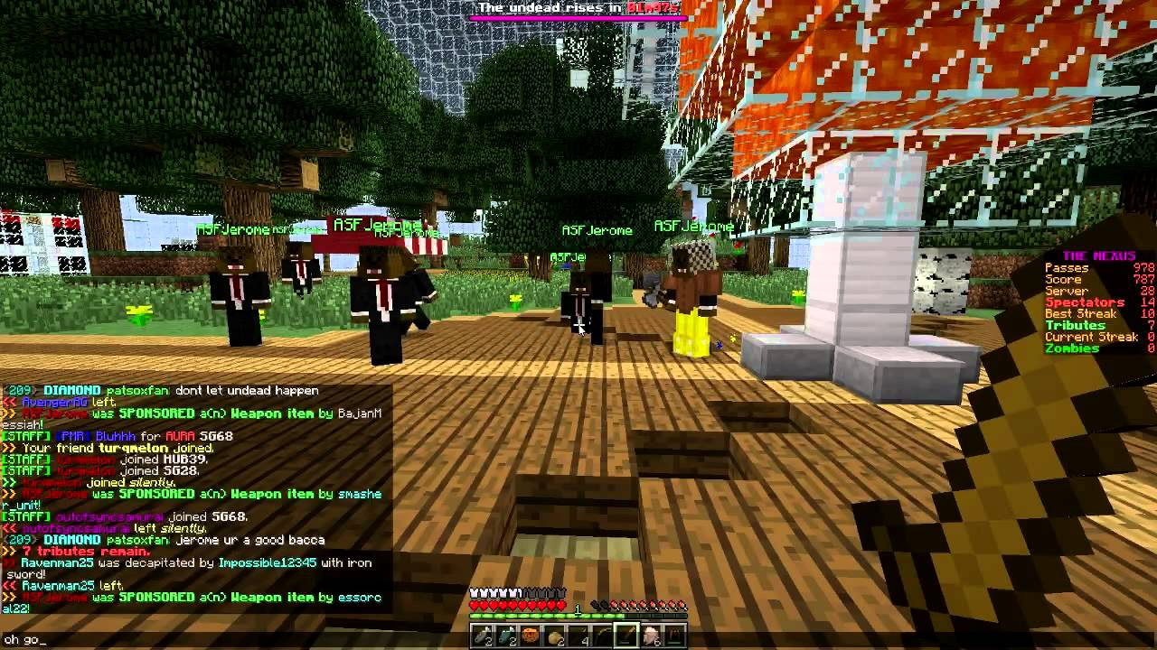 Minecraft bajan canadian hunger games 420 dating. Dating for one night.