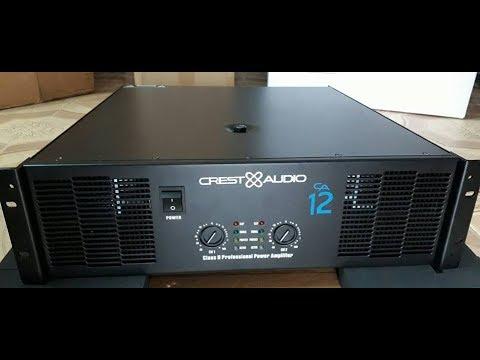 Cục đẩy Crest audio CA12 40 sò lh 01692540875