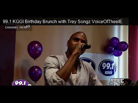 991 KGGI Birthday Brunch With Trey Songz VoiceOfTheeIE