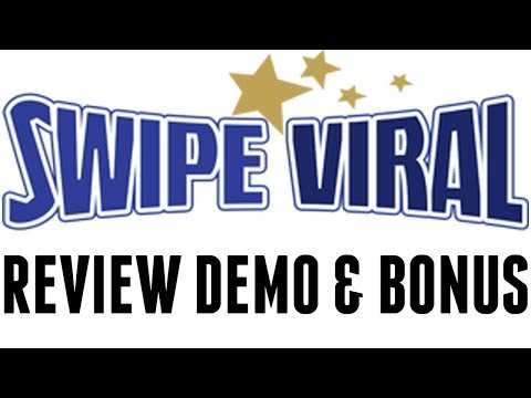SwipeViral Review Demo Tutorial Bonus - All In One Viral Content Marketing Software thumbnail