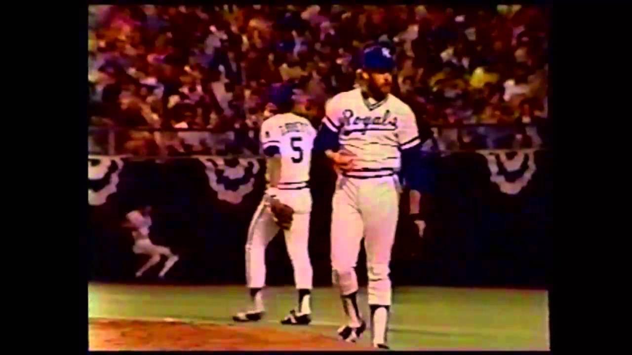 1980 ALCS Game 2 Yankees At Royals