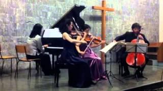 03-BRAHMS, Quatuor op.25 en sol mineur, Andante con moto & Rondo alla Zingarese, Presto
