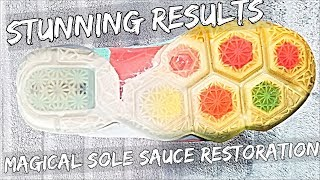 Extreme MAGICAL Sole Sauce Restoration On Lebron 12's | (Stunning Results !)
