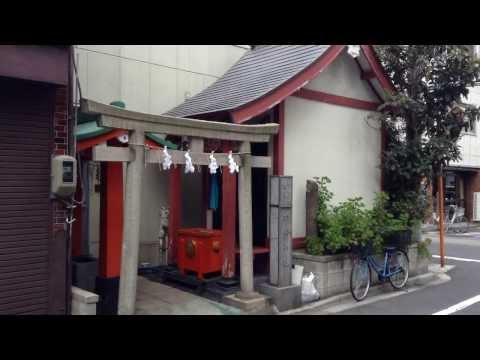 加賀美久米森稲荷神社---東京都台東区