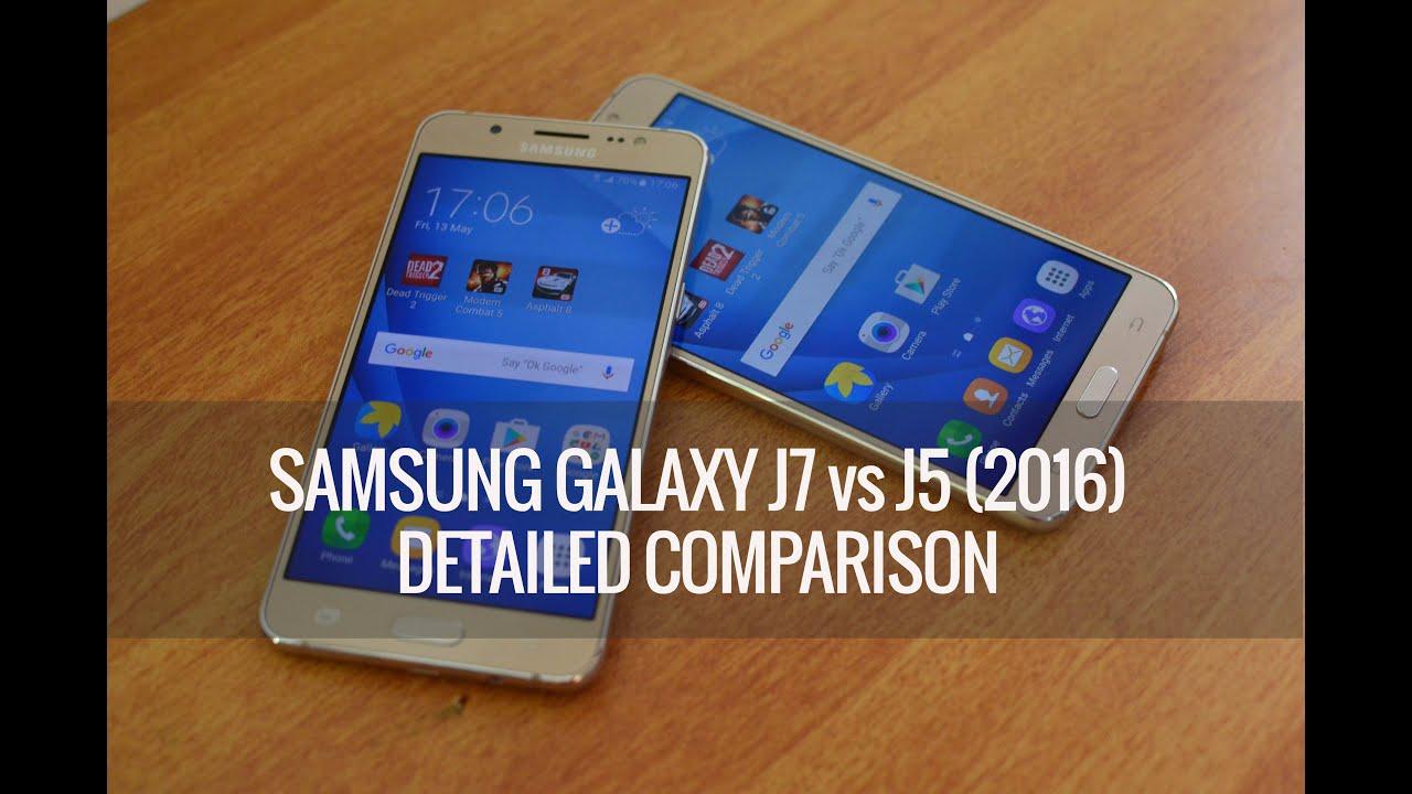 samsung galaxy j5 2016 vs galaxy j7 2016   which is