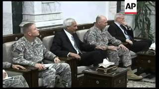 Adm. Mullen, chairman of US Joint Chiefs of Staff, meets Iraqi PM