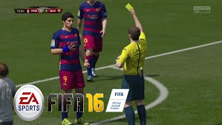 EA- FIFA 16 GAMEPLAY - FC BARCELONA vs Real Madrid (No Commentary) FIFA 16 DEMO [ PS4 / XBOX ONE]