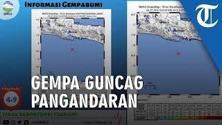 Gempa Bumi 4,9 SR Guncang Wilayah Pangandaran, Tak Berpotensi Tsunami
