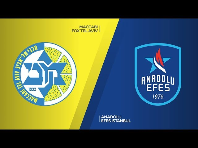 Maccabi FOX Tel Aviv - Anadolu Efes Istanbul Highlights | Turkish Airlines EuroLeague, RS Round 27