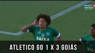 FINALMENTE  ATLETICO-GO 1 X  3 GOIÁS ( GLOBO ESPORTE