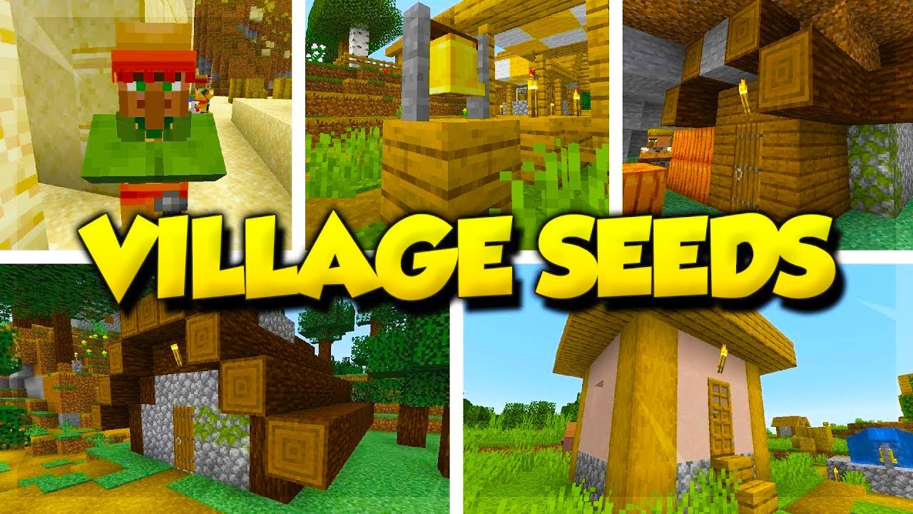 5 VILLAGE SEEDS for Minecraft 1 14 and 1 13 2! (Top Minecraft 1 14 Snapshot  Seeds)
