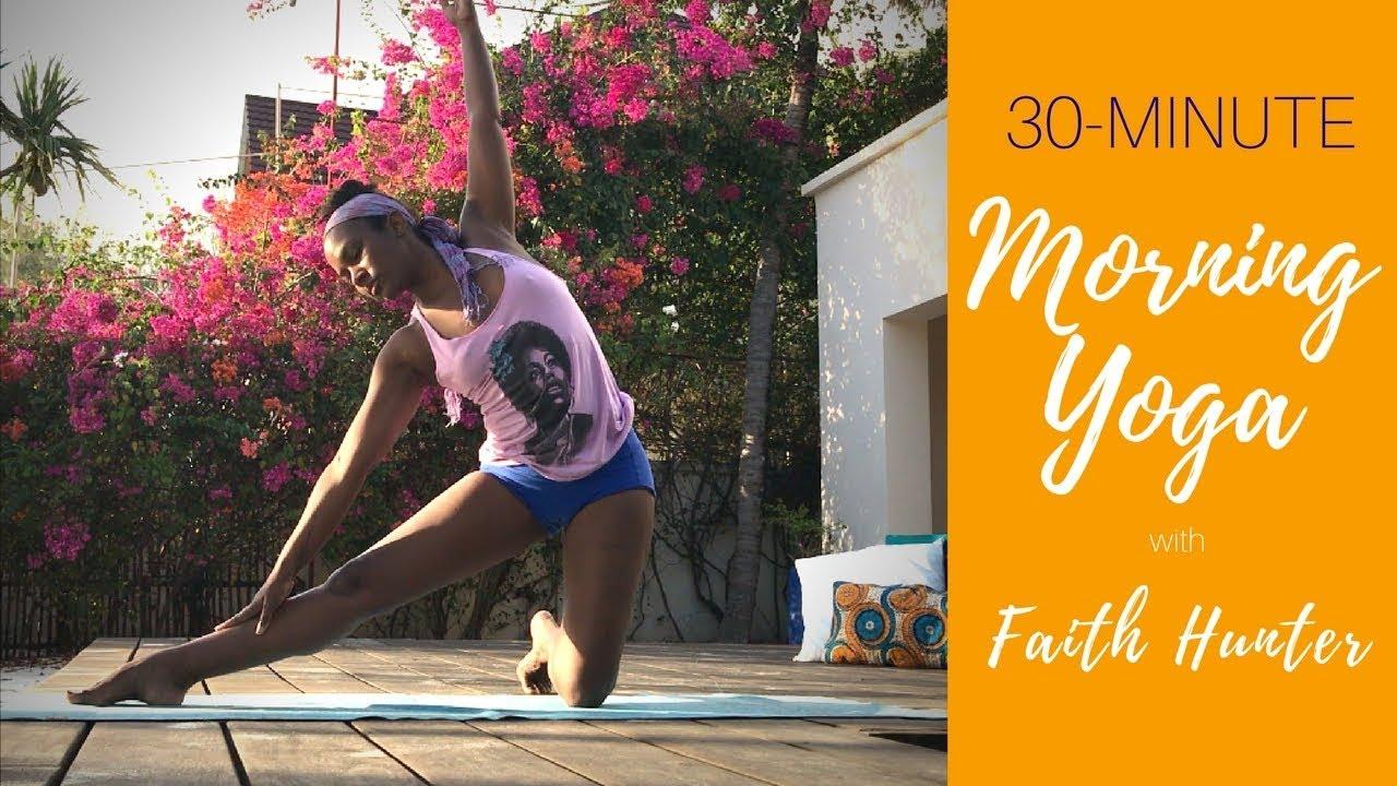 Morning Yoga Practice   with Faith Hunter Yoga