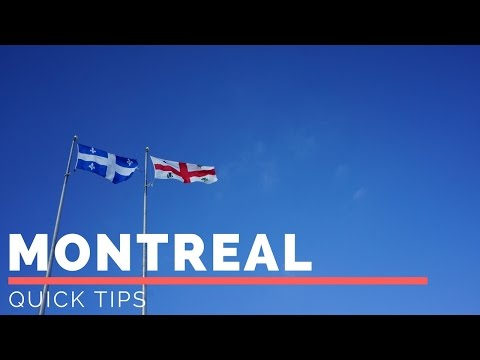 Tips for Montreal in the Winter