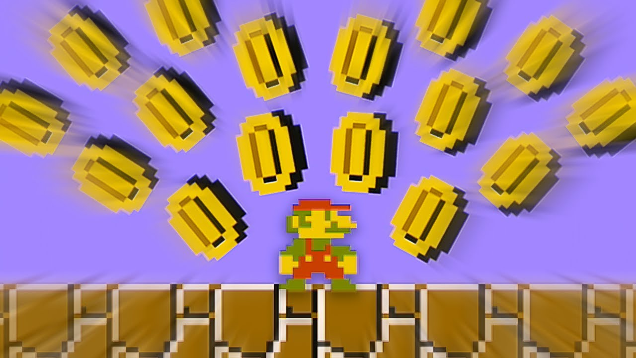 If I Touch a Coin in Super Mario Bros, the video ends...