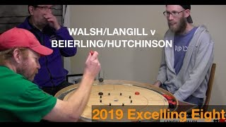 2019 Excelling Eight Crokinole - Doubles - Beierling/Hutchinson v Walsh/Langill