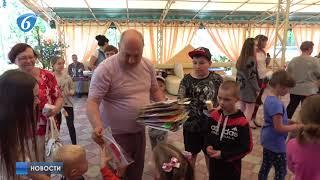В рамках проекта «Яркое детство» состоялся детский праздник Яркий выходной