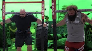 WORLD'S STRONGEST MAN EQUIPMENT TESTING WITH ROBERT OBERST