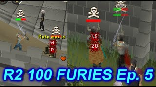High Risk Pking - Road To 100 Furies Episode 5 - Oldschool Runescape 2007
