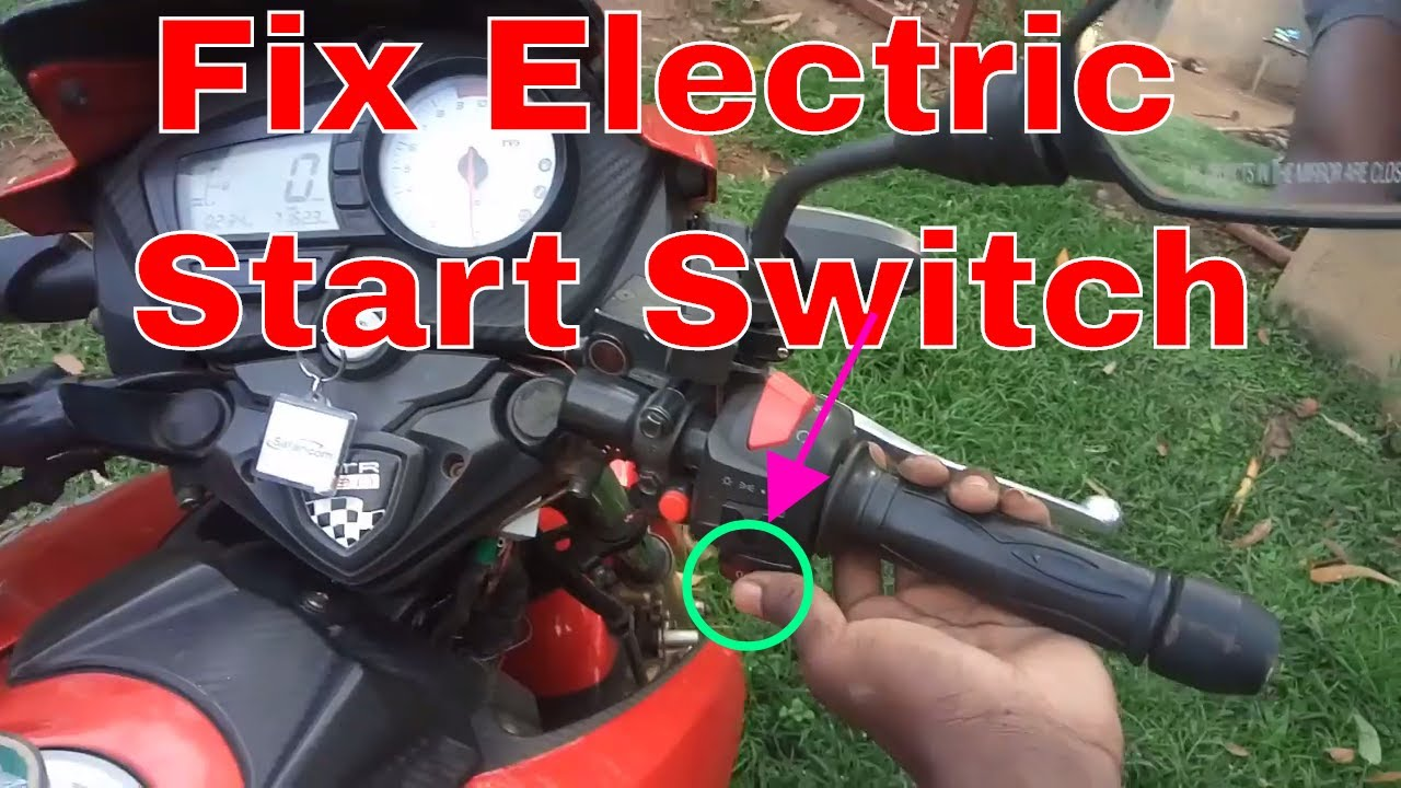 Fix Electric Self Starter Button Not Working On Tvs Apache Rtr 160 Keeway 50 Wiring Diagram 180 Motorbike