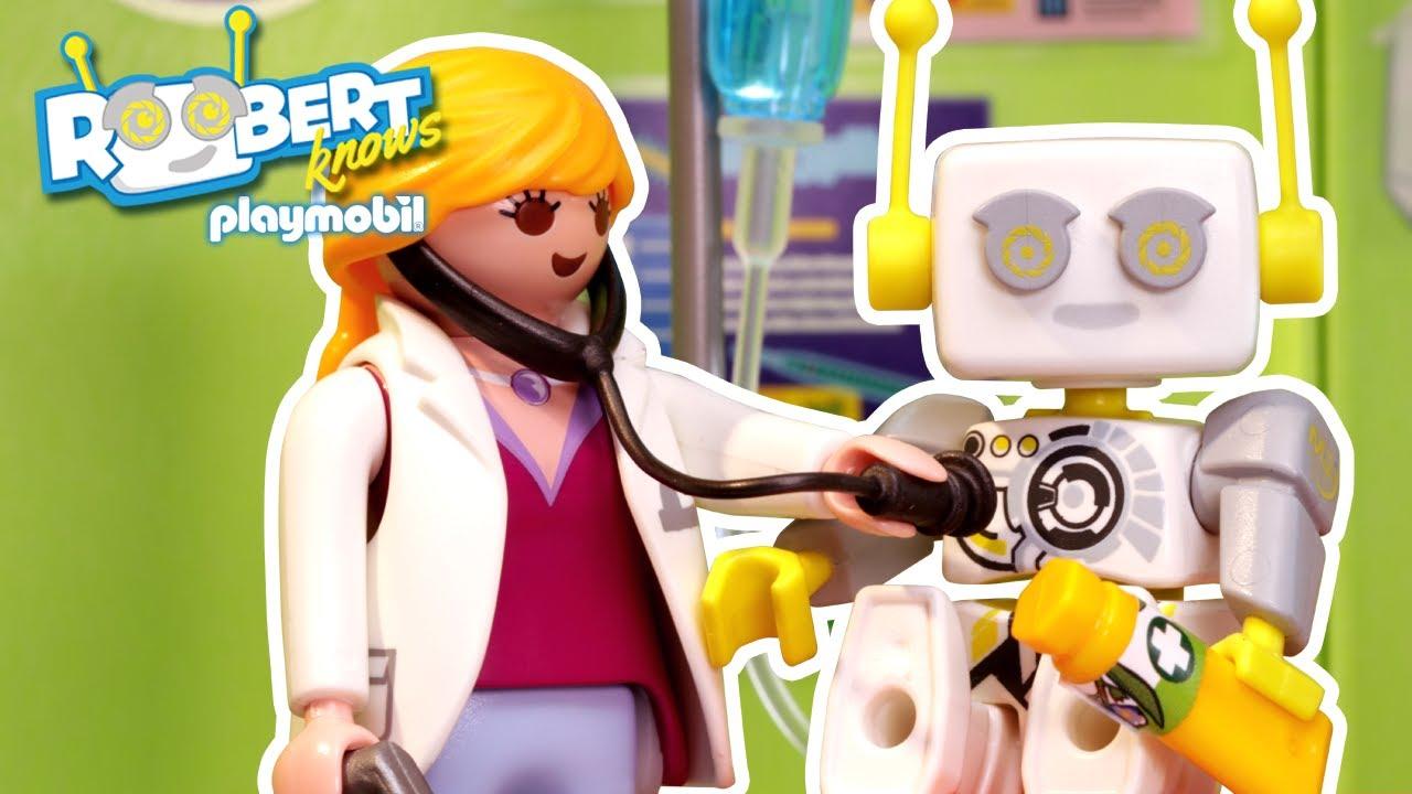 Was passiert eigentlich bei einem Kinderarzt? | ROBert erklärt | PLAYMOBIL Kinderfilm