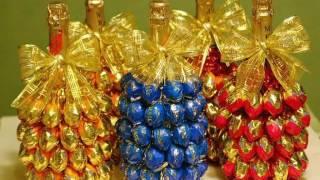 Украшаем шампанское и Новогодний стол ( идеи )