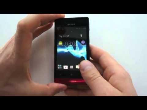 Sony Xperia miro Первый взгляд.