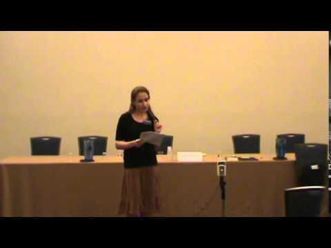 "Theodora Goss reads ""Cimmeria: From the Journal of Imaginary Anthropology"" Readercon 25"
