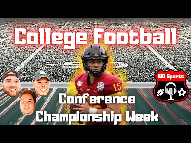 2020 College Football Conference Finals