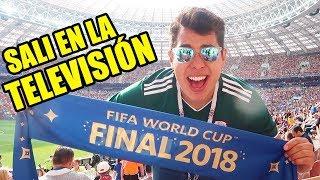 UN MEXICANO EN LA FINAL DEL MUNDIAL - FRANCIA VS CROACIA (4-2)
